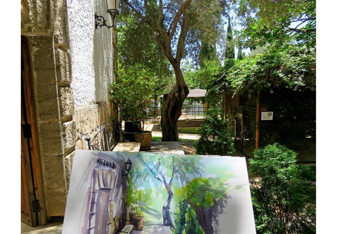 Torremolinos Jardín Botánico arte
