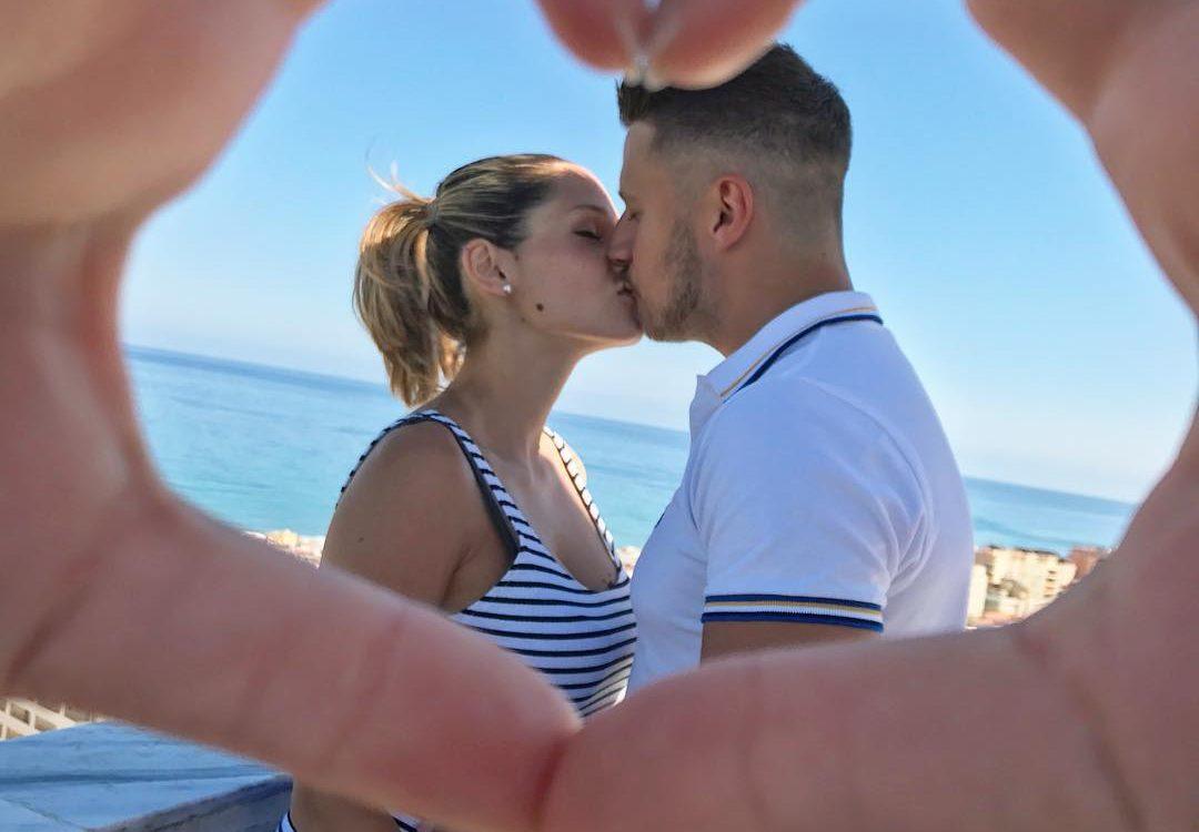 Besos en Miradores Torremolinos