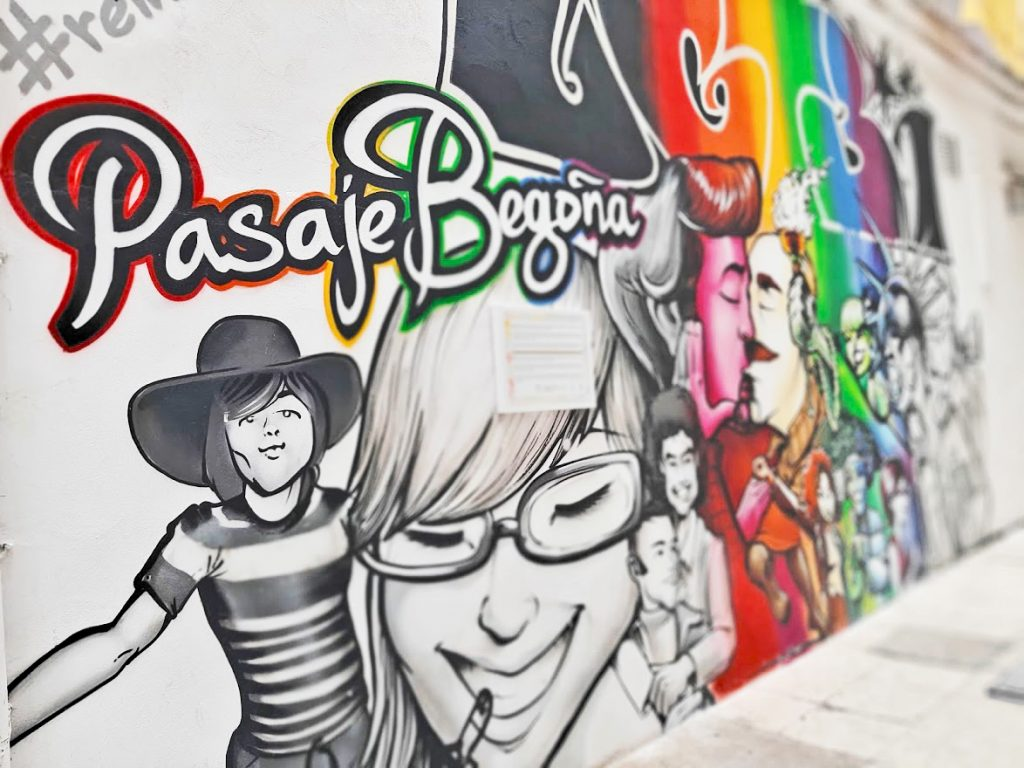 Pasaje Begoña street art