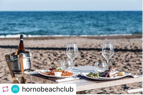 Vistas playa la carihuela Horno Beach